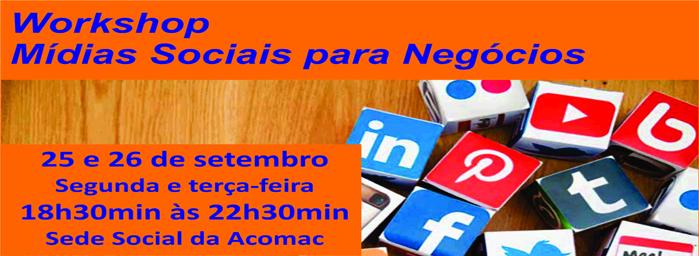 Workshop Mídias Sociais para Negócios